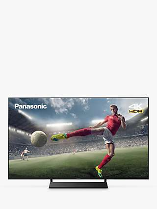 Panasonic TX-58JX870B (2021) LED HDR 4K Ultra HD Smart TV, 58 inch with Freeview Play & Dolby Atmos, Black