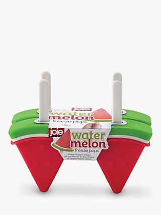Joie Watermelon Freeze Pops Ice Lolly Moulds, Set of 4