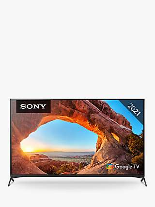 Sony Bravia KD43X89J (2021) LED HDR 4K Ultra HD Smart Google TV, 43 inch with Freeview HD/Freesat HD & Dolby Atmos, Black