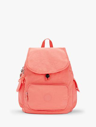 Kipling Small City Pack Backpack, Fresh Coral