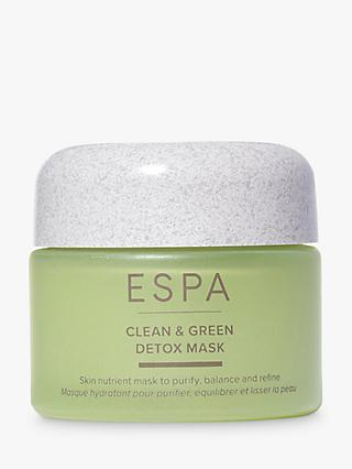 ESPA Active Nutrients Clean & Green Detox Mask, 55ml