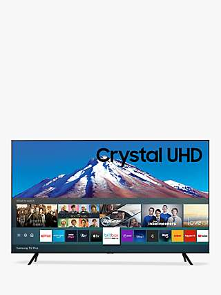 Samsung UE65TU7020 (2020) HDR 4K Ultra HD Smart TV, 65 inch with TVPlus, Black