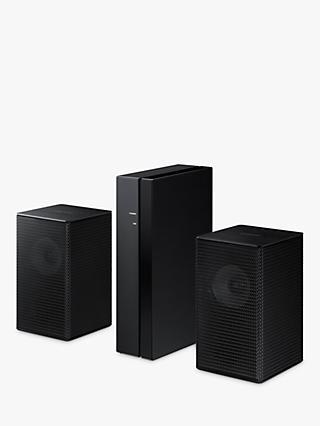 Samsung SWA-S9100S Wireless Rear Speakers, Black