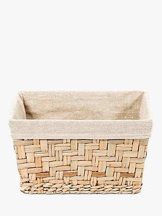 Compactor Fiesta Lined Storage Basket, Natural