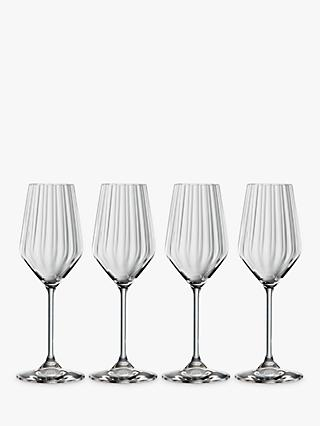 Spiegelau Lifestyle Champagne Glass, Set of 4, 310ml, Clear