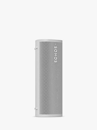 Buy Sonos Roam Smart Speaker with Voice Control, White Online at johnlewis.com