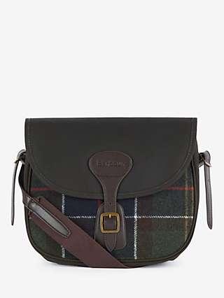 Barbour Tartan Cross Body Bag, Multi