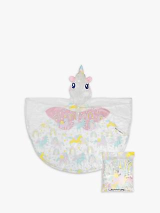 Sunnylife Kids' Unicorn Foldable Poncho, Multi
