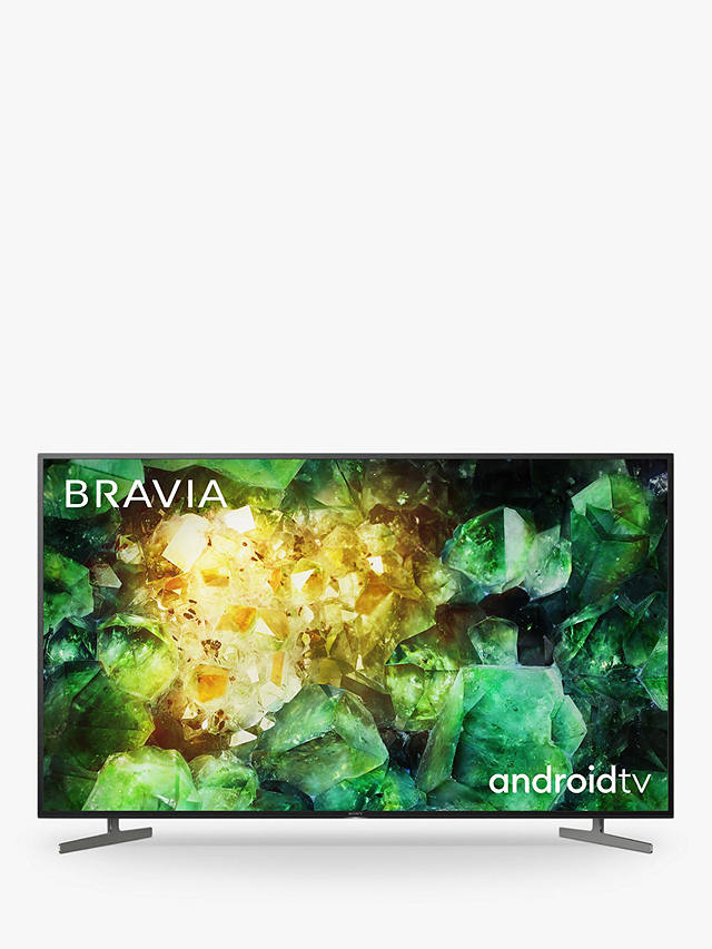 Buy Sony Bravia KE55XH8196 (2020) LED HDR 4K Ultra HD Smart Android TV, 55 inch with Freeview HD, Youview & Dolby Atmos, Black Online at johnlewis.com