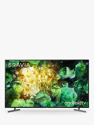 Sony Bravia KE65XH8196 (2020) LED HDR 4K Ultra HD Smart Android TV, 65 inch with Freeview HD, Youview & Dolby Atmos, Black