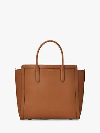 Lauren Ralph Lauren Tyler 34 Leather Tote Bag