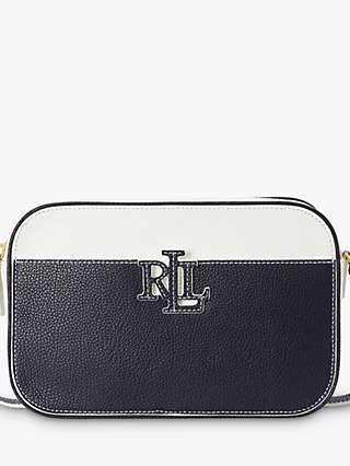 Lauren Ralph Lauren Carrie 24 Leather Cross Body Bag