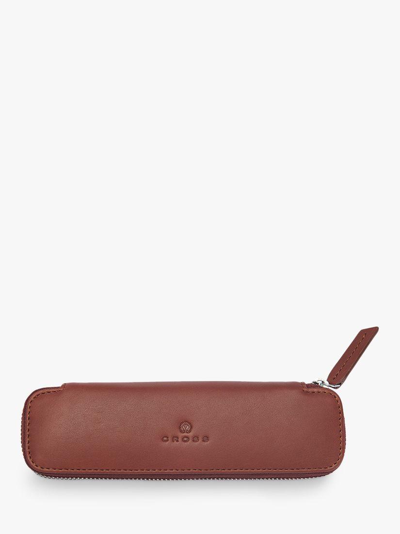 Cross Leather Double Pen Case