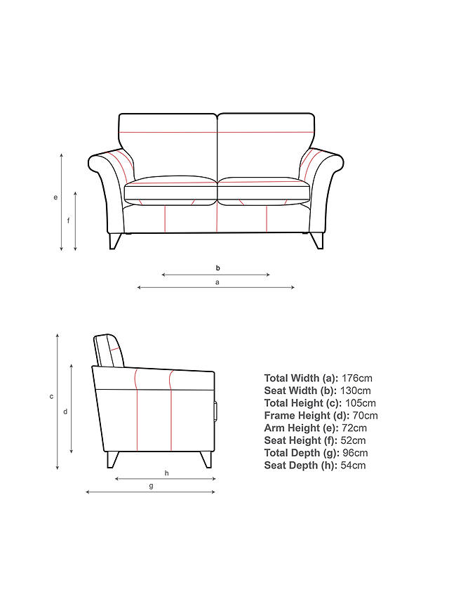 2 Seater Sofa At John Lewis Partners, What Is The Average Size Of A 2 Seater Sofa