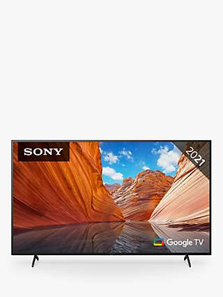 Sony Bravia KD55X81J (2021) LED HDR 4K Ultra HD Smart Google TV, 55 inch with Freeview HD/Freesat HD & Dolby Atmos, Black