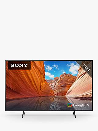 Sony Bravia KD50X81J (2021) LED HDR 4K Ultra HD Smart Google TV, 50 inch with Freeview HD/Freesat HD & Dolby Atmos, Black