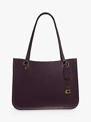 Coach Tyler Leather Tote Bag