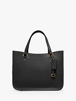 Coach Tyler 28 Leather Tote Bag