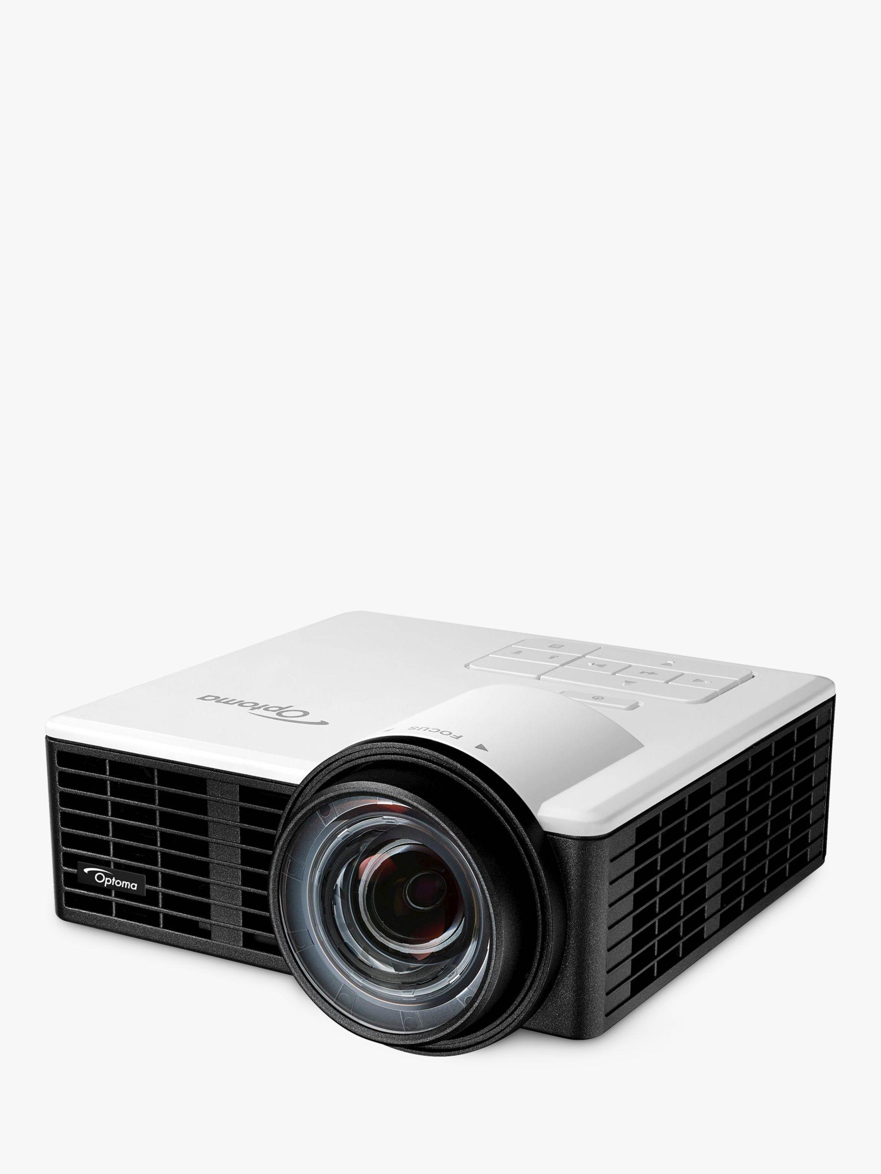 Optoma ML1050ST HD Ready 3D Portable Projector, 1000 Lumens
