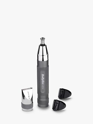 BaBylissMEN Super-X Metal Series Nose, Ear and Eyebrow Trimmer