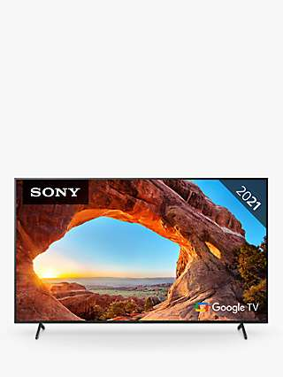 Sony Bravia KD85X85J (2021) LED HDR 4K Ultra HD Smart Google TV, 85 inch with Freeview HD/Freesat HD & Dolby Atmos, Black