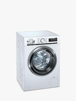 Siemens iQ500 WM14VMH4GB Freestanding Washing Machine, 9kg Load, 1400rpm Spin, White