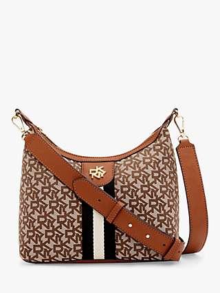 DKNY Carol Pouchette Medium Nylon Cross Body Bag