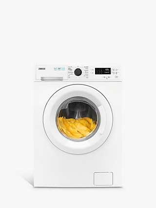 Zanussi ZWD86SB4PW Freestanding Washer Dryer, 8lg/4kg Load, 1600rpm Spin, White