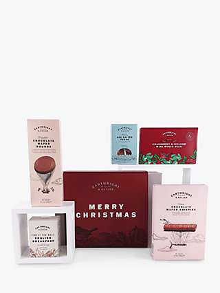 Cartwright & Butler Tea & Biscuits Christmas Gift Set, 705g