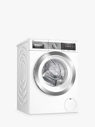 Bosch Serie 8 WAX28EH1GB Freestanding Washing Machine, 10kg Load, 1400rpm Spin, White