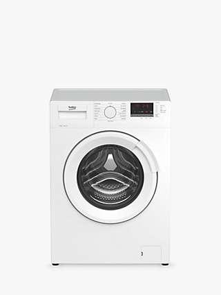 Beko WTL94151W Freestanding Washing Machine, 9kg Load, 1400rpm, White
