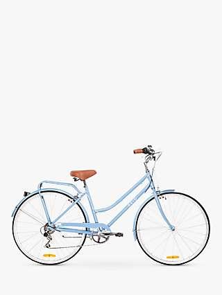 Reid Women's 18 Classic Lite Alloy Vintage Bike, Baby Blue