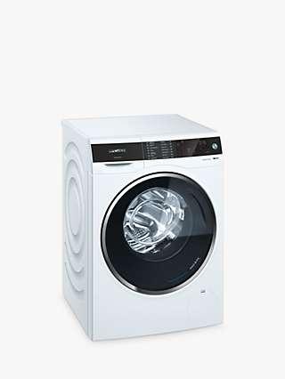 Siemens iQ500 WD14U521GB Freestanding Washer Dryer, 10kg Wash/6kg Dry Load, 1400rpm Spin, White