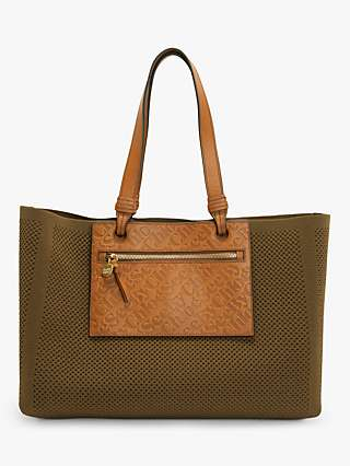See By Chloé Cecilya Mesh Tote Bag, Night Forest