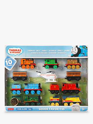 Thomas & Friends Sodor Favourites Vehicle Set