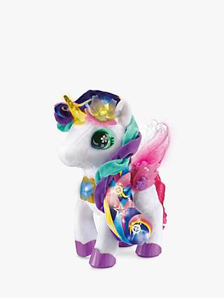 VTech Myla the Blush and Bloom Unicorn Plush Soft Toy