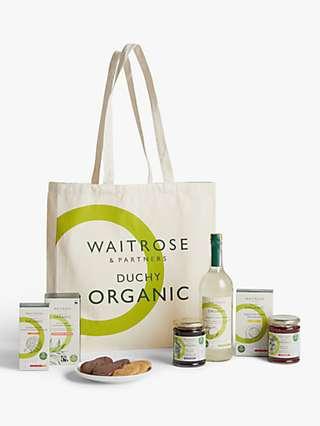 Waitrose & Partners Duchy Organic Afternoon Tea Tote Bag