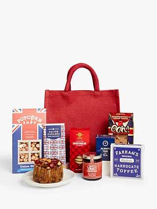 John Lewis & Partners Taste of Britain Gift Bag