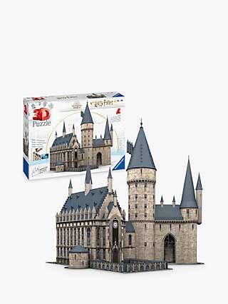 Ravensburger Harry Potter Hogwarts 3D Jigsaw Puzzle, 540 Pieces