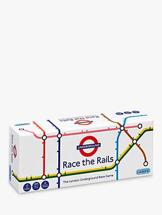 Gibsons Race The Rail Board Game