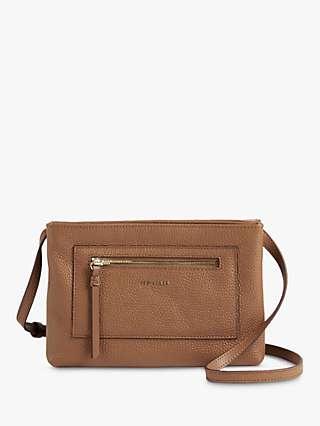 Ted Baker Calitaa Leather Zip Detail Cross Body Bag