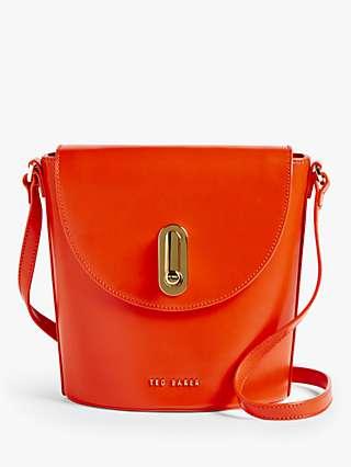 Ted Baker Lattifa Asymmetric Leather Cross Body Bag