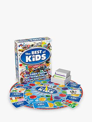 Drummond Park LOGO The Best of Kids Board Game