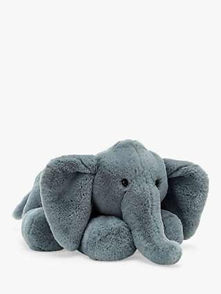 Jellycat Huggady Elephant Soft Toy, Large