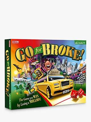 John Adams Go for Broke Board Game