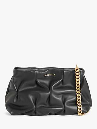 Coccinelle Ophelie Goodie Leather Clutch Bag