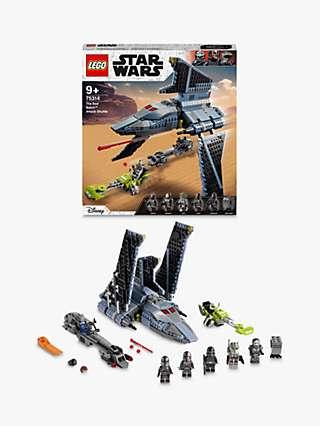 "LEGO Star Wars 75314 The Bad Batchâ""¢ Attack Shuttle"