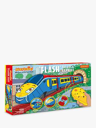 Hornby R9332M Flash The Local Express Remote Controlled Battery Train Set