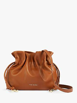 Ted Baker Maiziey Slouchy Mini Leather Cross Body Bag
