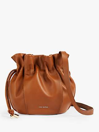 Ted Baker Myloo Slouchy Mini Leather Cross Body Bag